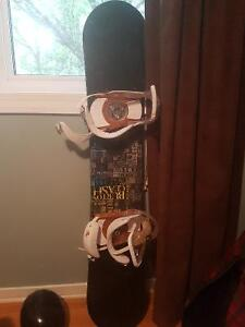 Burton Snowboard with boots, helmet, bag, goggles, everthing!