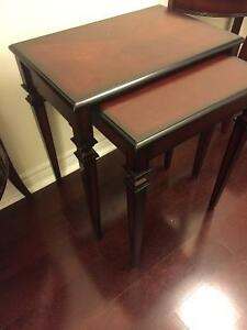 Bombay company nesting tables