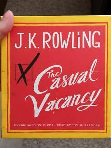 The Casual Vacancy audio book by J.K. Rowling