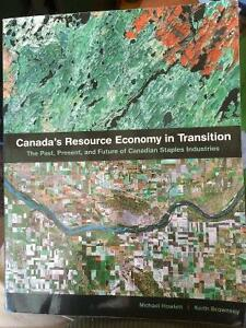 Canada's Resource Economy in Transition