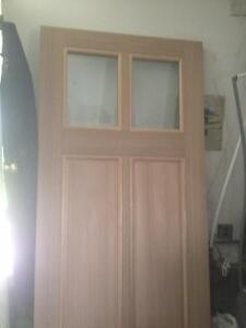Solid Mahogany Exterior Door Impoted