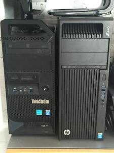 6 ASSORTED PC's FOR OFFICE USE - FULL SALE WITH ALL PERIPHERALS