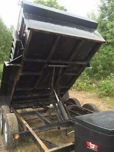 5 Ton Dump Trailer with Equipment Ramps, 6' X 10', New 2015 Kawartha Lakes Peterborough Area image 5