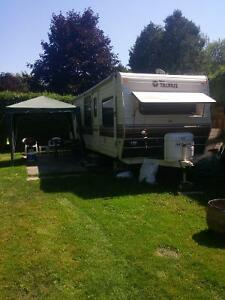 Trailer and lot forsale