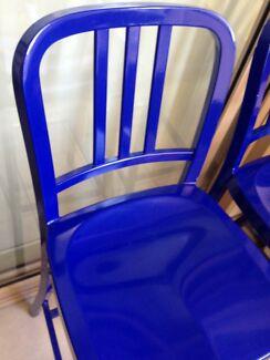 Bar stools Blue