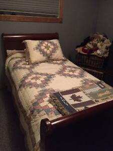 Bombay Twin Bed includes Box spring & Mattress and Dresser