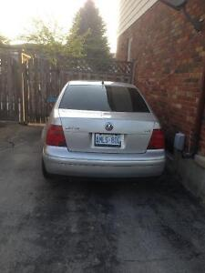 Parting out 2001 Volkswagen Jetta tdi