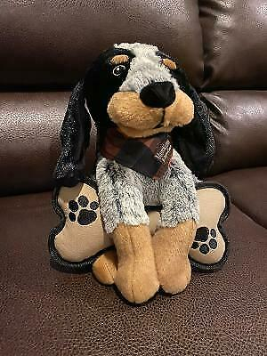 "Tractor Supply Mutt Nation Bluetick Coonhound Dog ""Smokey"" Plush Toy New  W/Tags"