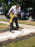 Looking for Concrete work done??     --     Free Quote.