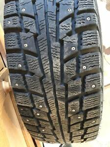 Buy 3 Get One Free! 4 Winter Tires on Winter Alloy Rims Cambridge Kitchener Area image 4