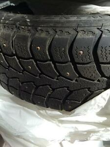 Tires and rims Chev aveo