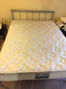 Queen Pillow Top Spring Mattress with Steel Frame! Taringa Brisbane South West Preview