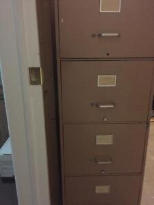 """4 Drawer Filing Cabinet Legal Size 18""""w x 28""""d x 51""""h"""