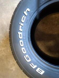 P255/60R15X2 102S BFGOODRICH RADIAL A/T All season USED FOR SALE