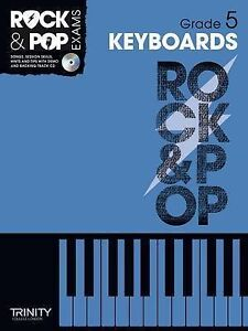 Trinity Rock & Pop Keyboards Grade 5 by Trinity College London