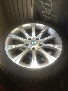 Selling tires, the rims I'll throw in if you can use them