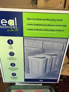 Slide out garbage waste bins for inside kitchen Cupboard accesry Cambridge Kitchener Area image 2
