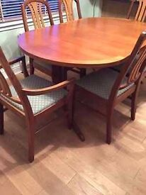 Nathan Table and 8 chairs