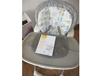 Baby high chair Rrp 100. Hardly used.