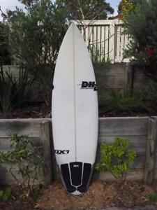 """DHD DX1 Shortboard/Surfboard, good condition. 5'10""""x 19 1/8 x 2 Adamstown Heights Newcastle Area Preview"""