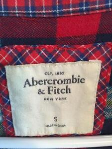 Abercrombie and Fitch plaid button up Size S Kitchener / Waterloo Kitchener Area image 2