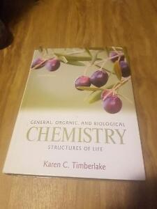 Gerneral, organic, biological chemistry: structures of life