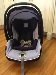 REDUCED; Peg Perego Car Seat- purple
