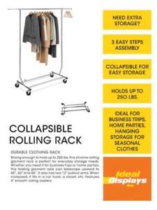 Présentoir de plancher / Rolling Racks / floor displays for Boutiques / COMMERCIAL GRADE / HEAVY DUTY