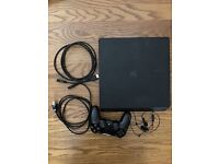 PlayStation 4 1TB Console and Controller