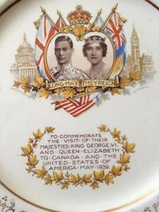 King George VI and Queen Elizabeth collectors plate for sale Stratford Kitchener Area image 1