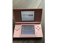 PINK DS LITE COMES WITH ORIGINAL CHARGER AND PEN