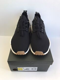 Adidas NMD R1 PK Black Gum Size Mens US 8 BRAND NEW
