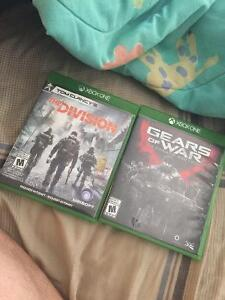 The Division,G.O.W. Ultimate Edition & Halo 5