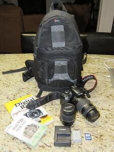 Canon EOS Rebel XSI package