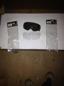 Scorpion motorcycle Helmet shields -smoked or clear EXO 100/C110