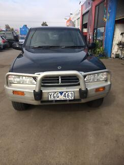 2005 Ssangyong Musso auto Ute diesel turbo $3999