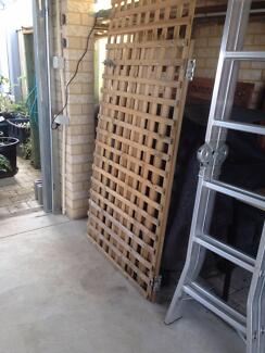 Termite proof Gate. with Hinges & Bolt, $7.