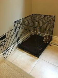 Dog Cage with cushion