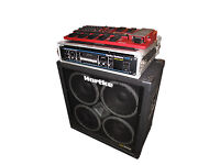 Hartke bass cabinet, Hartke Amplifier, Boss GT 6B