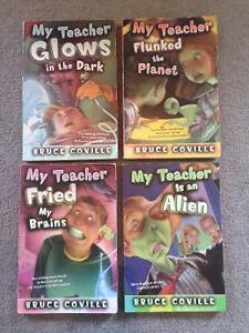"""4- """"My Teacher"""" books Bruce Coville"""