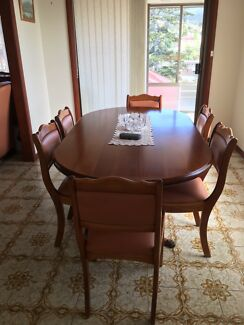 Solid Blackwood Dining Table