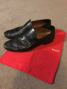 Bally Black Leather Men's Shoes US 12/13 Cammeray North Sydney Area Preview