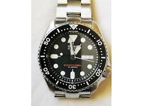 Seiko Classic SKX007j Diver watch with Super Oyster bracelet