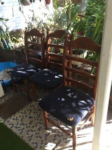 Free 3 Dining chairs Beverly Hills Hurstville Area Preview