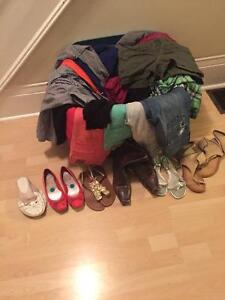 Huge lot of women's clothes