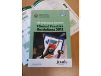 JRCALC Clinical Practice Guidelines 2013 - Brand New, Half Price!
