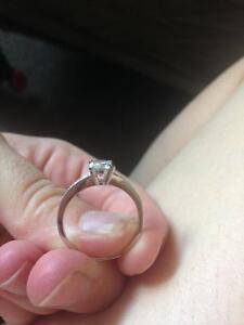 Promise Ring - 925 silver with cubic zirconia Kawartha Lakes Peterborough Area image 4