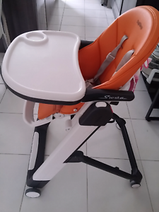 Peg Perego Siesta Highchair Arancia  Still in perfect and working Underwood Logan Area Preview