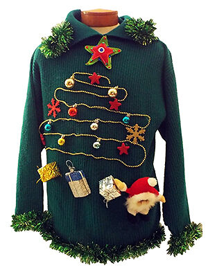 Out-Ugly Everyone Else's Ugly Christmas Sweater | eBay