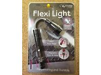 LED FLEXI TORCH EXTENDABLE FLEXIBLE MAGNETIC PICK UP TORCH LIGHT 57cm